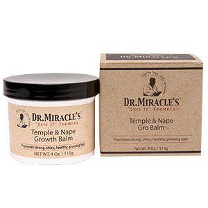 Dr. Miracle's Temple/Nape Gro Balm - Super 4oz(New scetn)