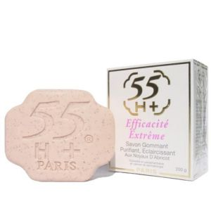 55H+ Efficacite Extreme Exfoliating, Purifying,Lightening Soap 7oz