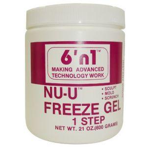 One bottle 6 n 1 NU-U Freeze Gel 21 oz