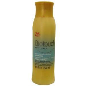 Wella Biotouch nutri-care frizz control nutrition 5shampoo8oz