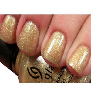 China Glaze Nail Lacquer 0.5oz/5 golden rings