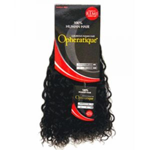 """Opheratique Bohemian Curl 10"""" Solid Color #4 Brown"""