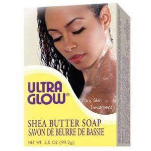 Ultra Glow Shea butter soap 3.5oz
