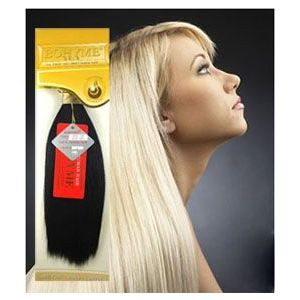 "Bohyme Gold Silky Straight - 14"" Dark"