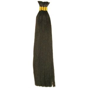 "Tasha  Yaky Bulk 18"" - Braiding Straight/Human Hair Blend"