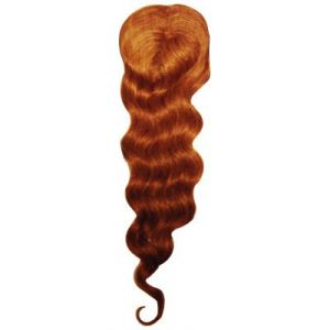"100% Human Hair Master Part Deep Wave 16""~18"""