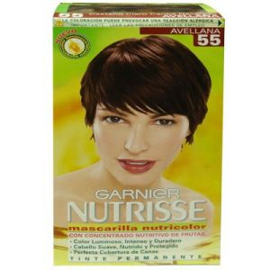 Garnier Nutrisse Permanete hair color #55 Avellana
