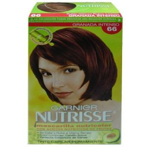 Garnier Nutrisse Permanete hair color#66 Granada Intenso