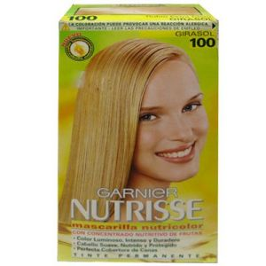 Garnier Nutrisse Permanete hair color#100 girasol