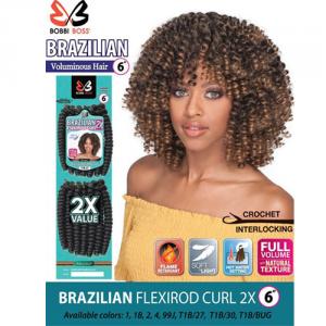 bobbi boss Brazilian flex 6 inch Rod Curl